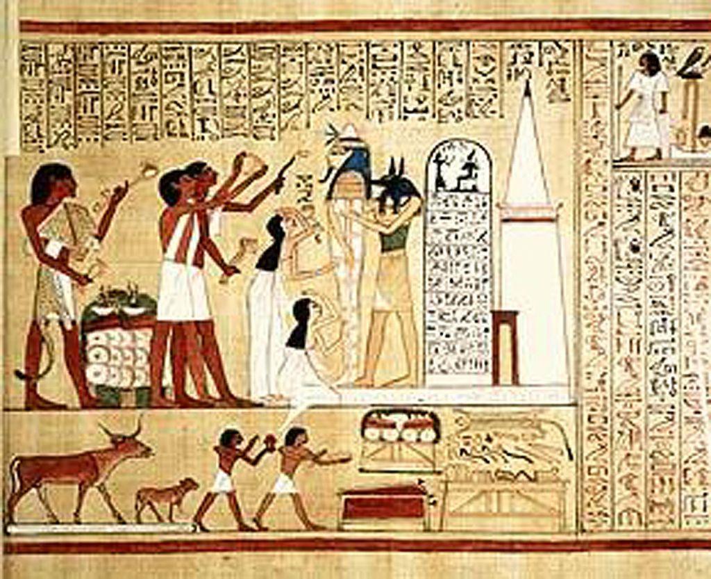 A mumificação no antigo Egito