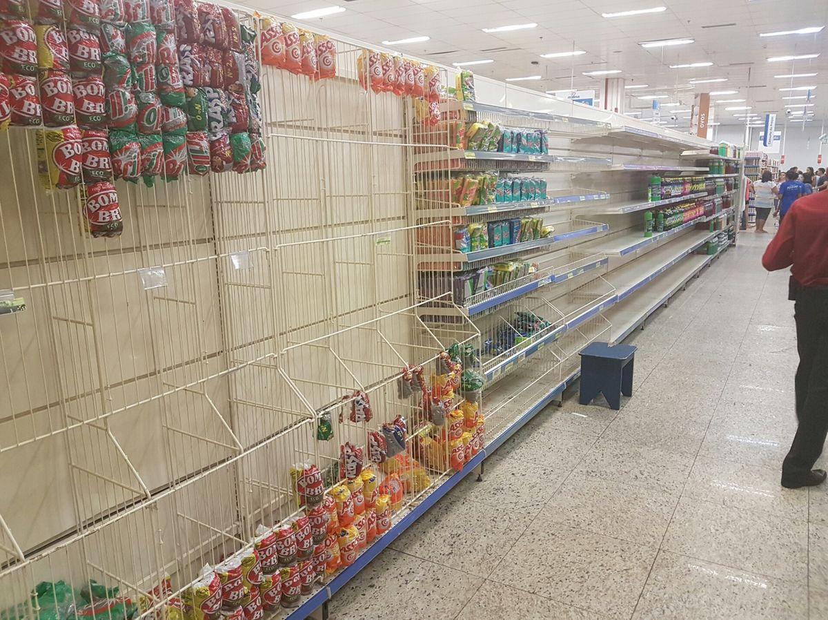 Área de produtos de limpeza é a primeira a dar grande desfalque no Mateus Supermercado