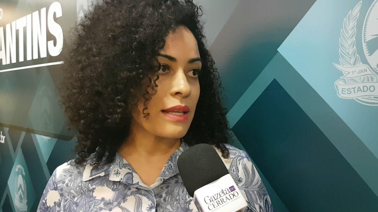 Secretária de Cidadania e Justiça, Gleidy Braga