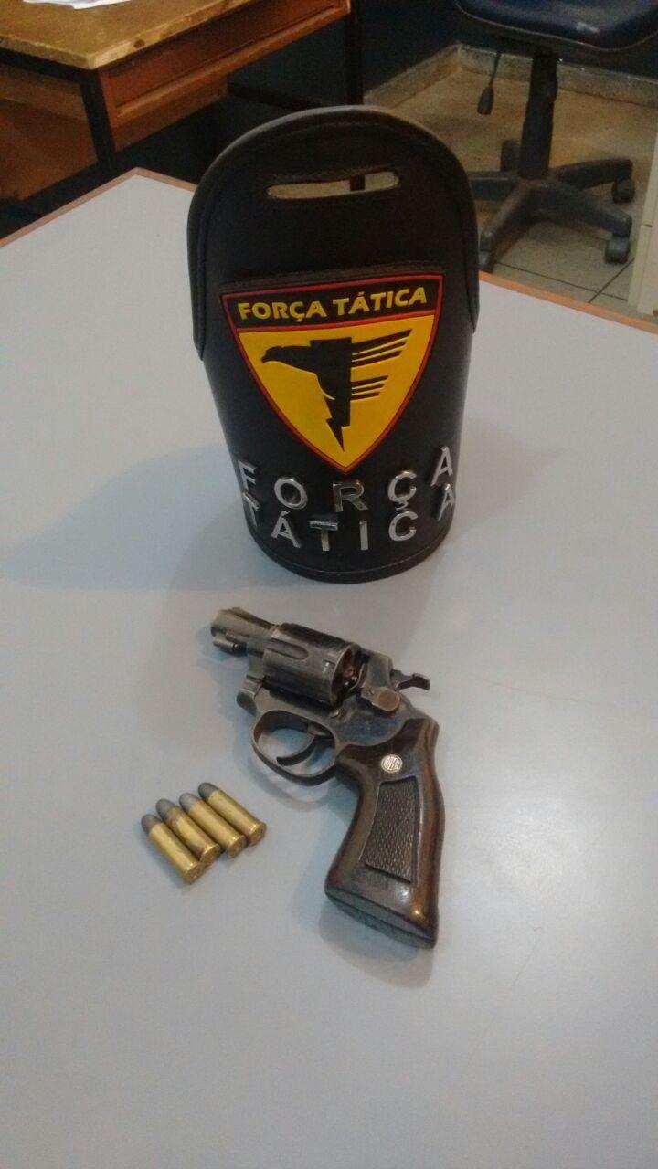 Arma de fogo apreendida em Porto Nacional