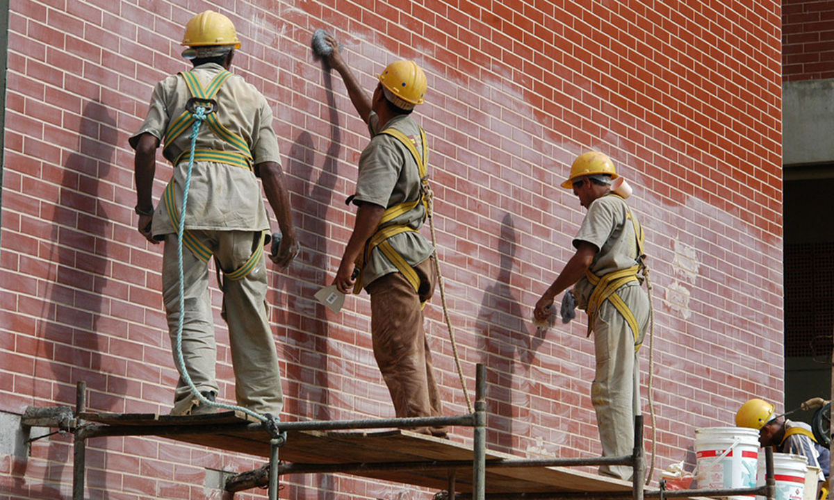 O setor da Construção Civil foi o que mais contribuiu para o saldo positivo de postos de trabalho no Estado, com a manutenção de 366 vagas (Foto: Divulgação/Governo do Tocantins)