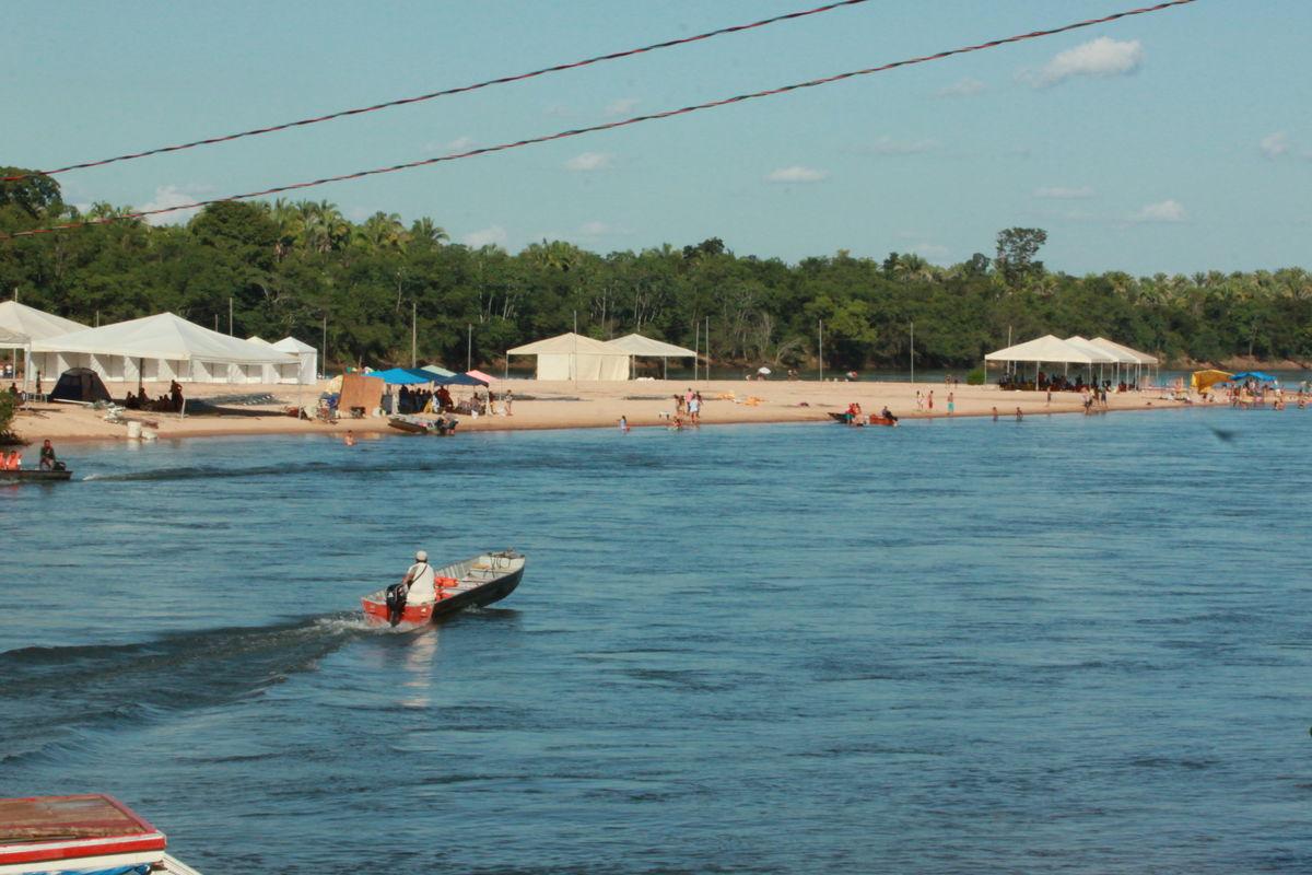 Praia Rio Sono - pedro afonso