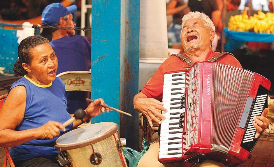 Sr. Joaquim e a esposa alegravam as feiras (Foto: Elias Oliveira/Jornal do Tocantins)