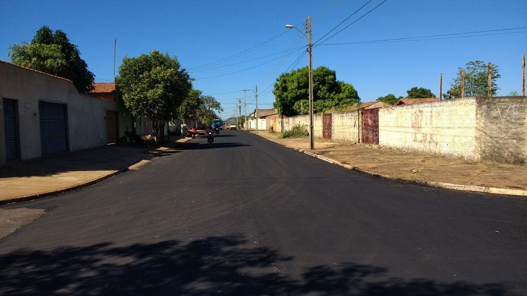 pavimentação Subprefeitura