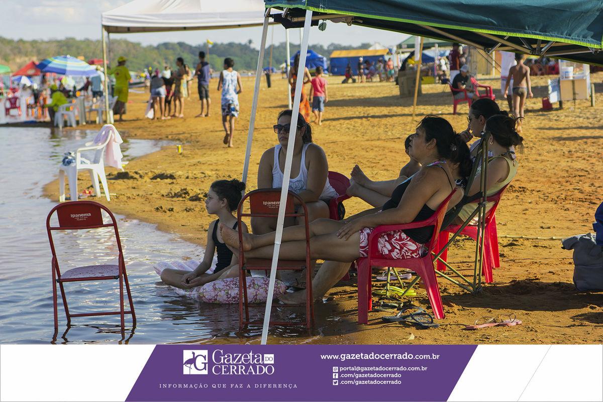 Praia de Bom Será - Tupirama - Tocantins - Brasil - Temporada de Praia Julho de 2017