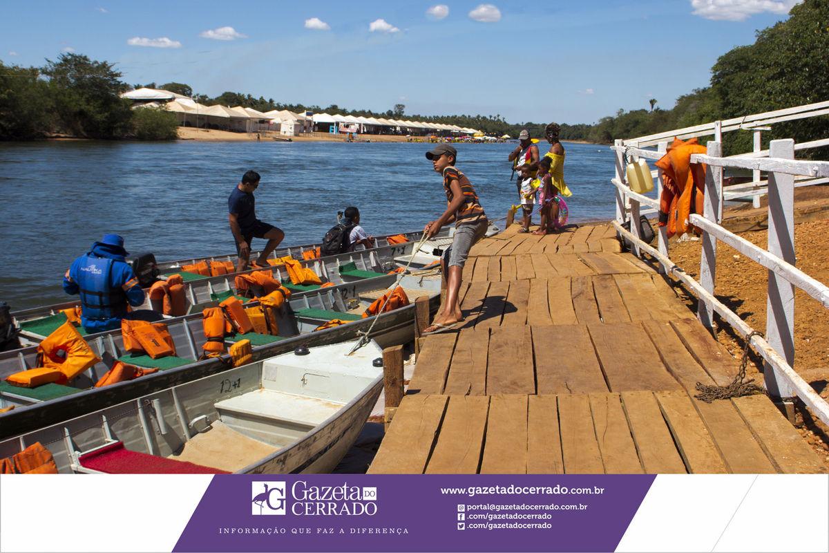 Praia do Rio Sono - Pedro Afonso - Temporada de Praia 2017 - Tocantins - Brasil - Gazeta do Cerrado - Foto by Marco Aurélio Jacob