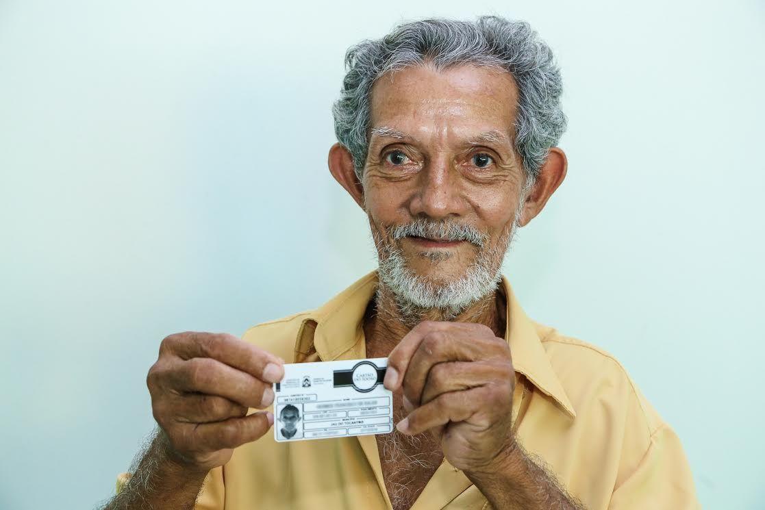 cartão do idoso