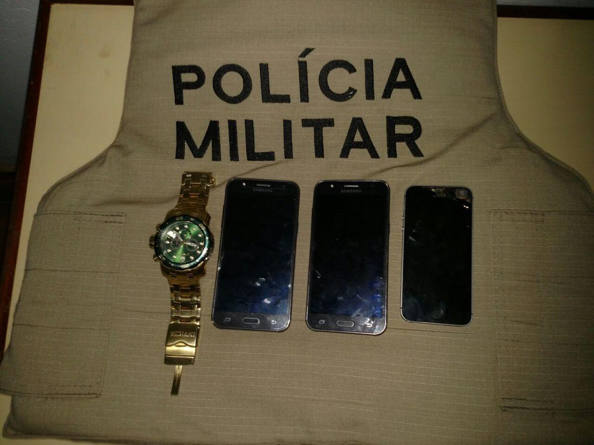 Objetos furtados em residência alugada por equipe da Globo são recuperados pela PM