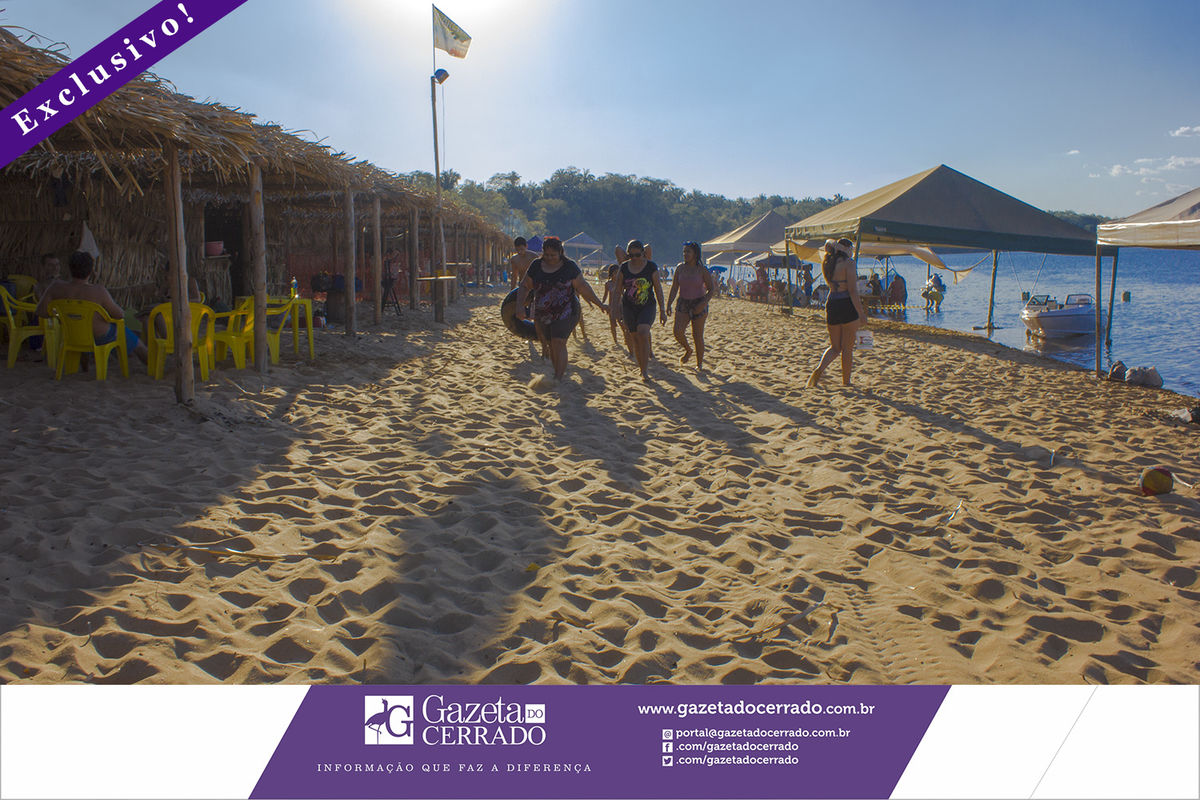 Praia do Funil - Miracema - Temporada de Praia 2017 - Tocantins - Brasil - Gazeta do Cerrado - Foto by Marco Aurélio Jacob