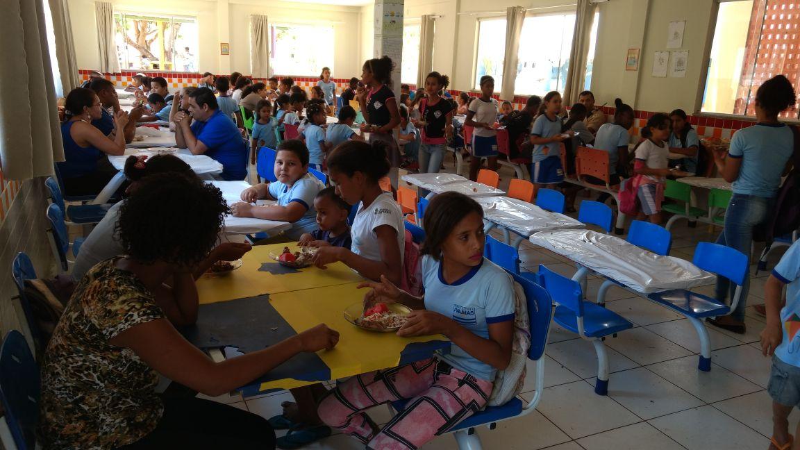 Refeitorio da Escola do Campo Sueli Reche em Taquaruçu (1)
