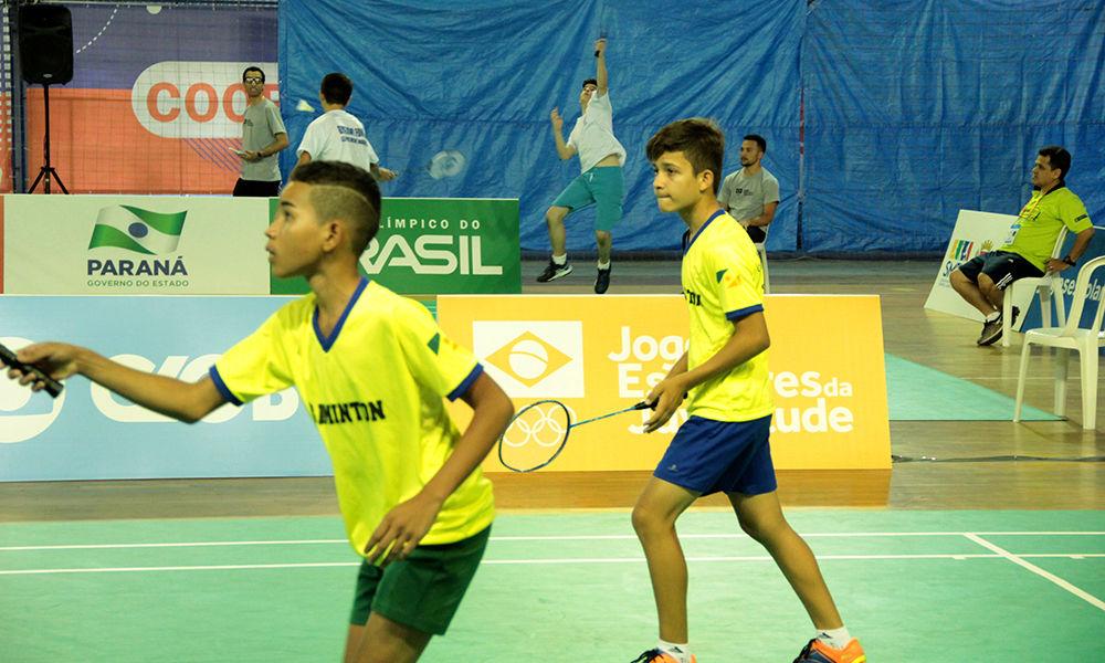 Thiago e Alechandre vencem nas quartas de final e garantem o bronze no Badminton - Philipe Bastos