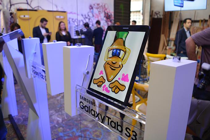 Novo tablet da Samsung, o Galaxy Tab S3, tem alto ...