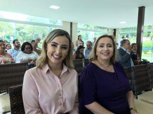 Cinthia começa semana com posse de novas secretárias; Paulo César assume subprefeitura