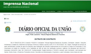 Suplementares: TRE mobiliza população e contrata empresa por quase R$ 2 milhões para apoio