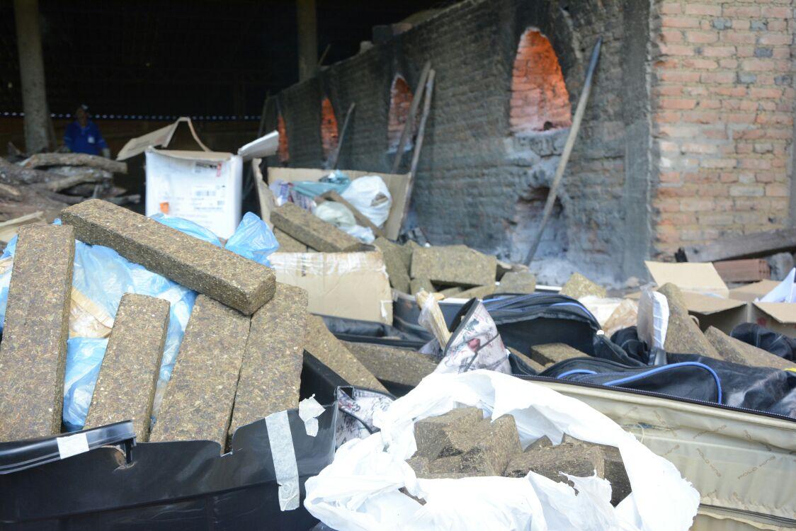 Apreensões: R$ 600 mil em drogas são incinerados pela polícia na capital