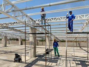 Obras do Hospital Regional de Gurupi estão a todo vapor e receberão reforço na próxima semana
