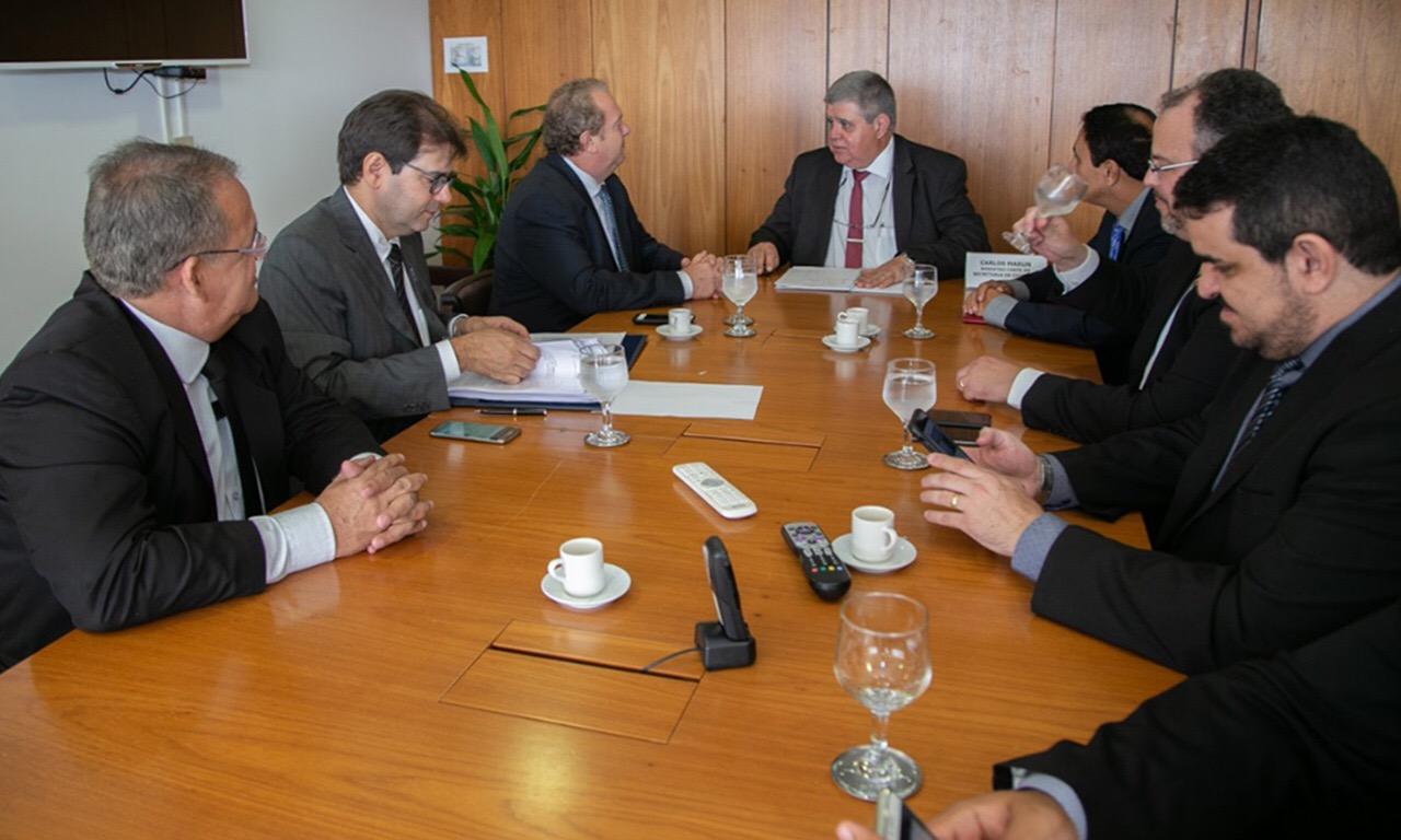 Com Temer e ministros, Governador reeleito busca liberação de recursos e projetos estratégicos para o Tocantins