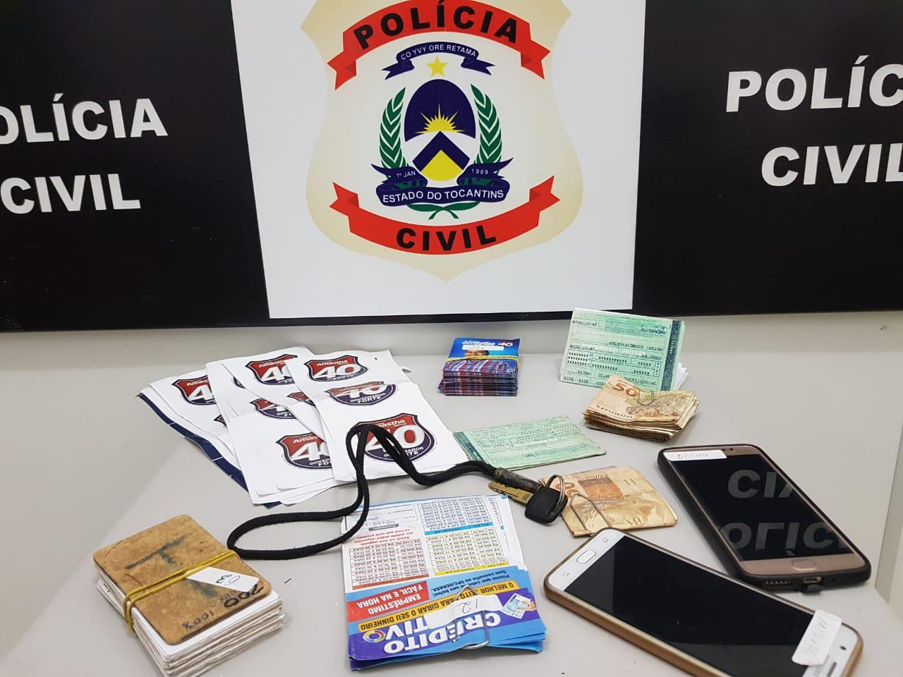 Colombianos são presos com material de campanha de candidato ao Governo do Tocantins
