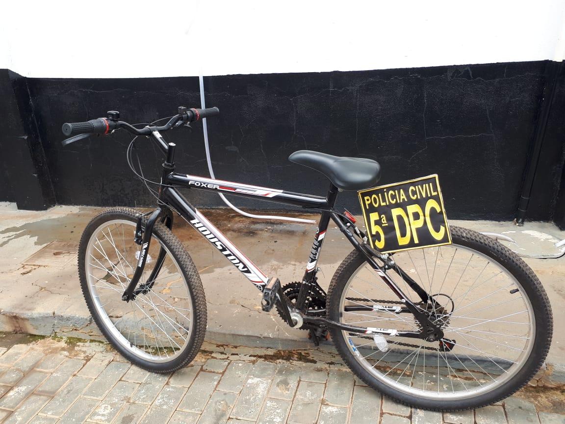 Suspeito de furtar bicicleta é preso na região sul de Palmas