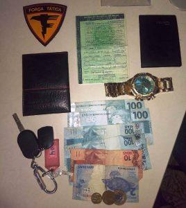 Suspeito de roubo de veículos é preso em Augustinópolis