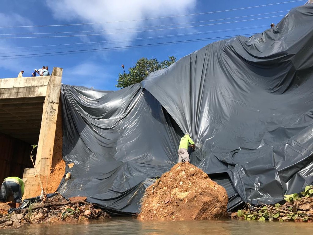 Desmoronamento em Palmas assusta moradores e especialista alerta para riscos