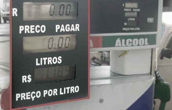 Resultado de imagem para - Antes de abastecer seu veículo, observe se a bomba medidora de combustível tem seus elementos indicadores de medição zerados (volume e preço).