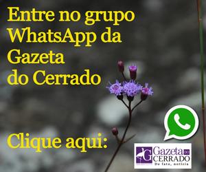 Entre no grupo de Whats da Gazeta do Cerrado