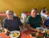 Duas das principais peças do tabuleiro de 2022, Dimas e Gomes almoçam juntos e discutem cenário