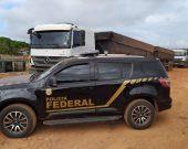 PF apreende 100 toneladas de minério na divisa do Pará com o Tocantins