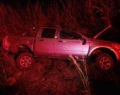Colisão frontal entre caminhonete e carreta mata casal de idosos no sul do Estado