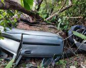 Vítimas são arremessadas para fora do carro em acidente com 4 mortos na TO-010