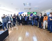 Comitiva de Secretários de Esporte visita Senador Eduardo Gomes que articula recursos junto a ministro